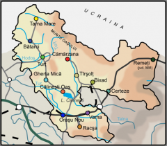 Harta microregiunii